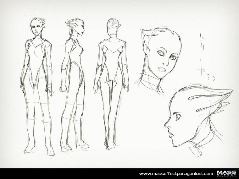 Sketches Php Pid 21 Mass Effect Paragon Lost
